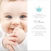Crown Foto Inbjudningskort