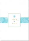 Winter Frost Inbjudningskort