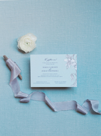 Iris Inbjudningskort kort