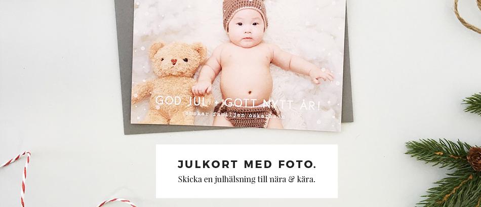 Julkort med foto