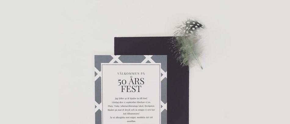 Festinbjudan