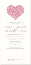 Blooming Heart Inbjudningskort