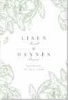 Gardenia Inbjudningskort