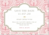 Lace Butterfly Save the date + kuvert