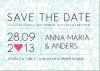 Vera Save the date + kuvert