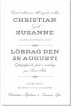 Vintage Inbjudningskort