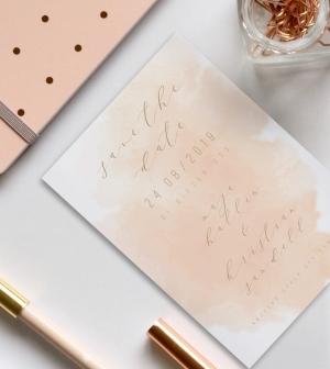 Save the date kort till bröllop