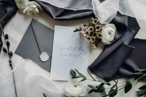 Bon Bröllopsinbjudan