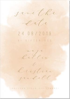 Bon Save the date kort