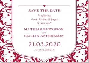 Dream save the date