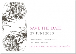 Duo save the date