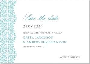Freja save the date