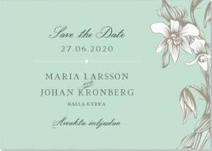 Iris save the date