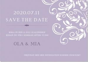 Joy save the date