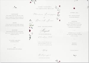 Madeira Inbjudningskort