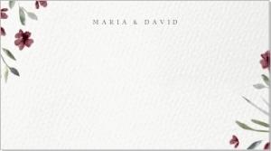 Madeira Placeringskort