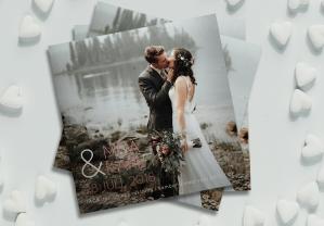 Pico Tackkort till bröllop