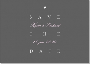 Trend save the date
