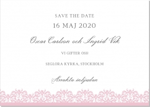 Vienna save the date