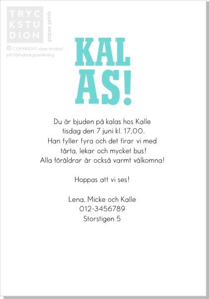 Printable Party Dog Inbjudningskort