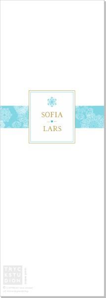 Printable Winter Frost Program Stående