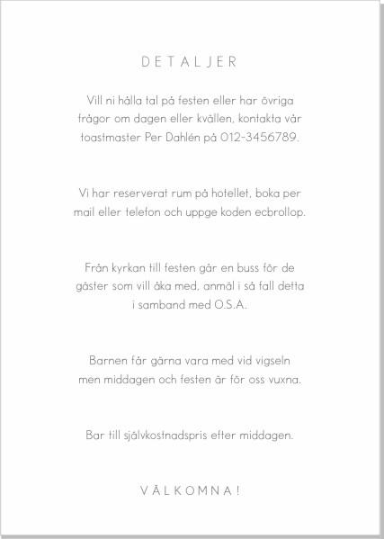 Printable Extra inlaga - Modern A6