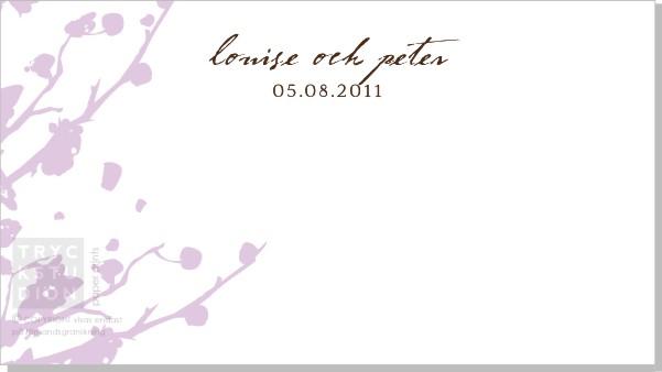 Printable Springtime Placeringskort