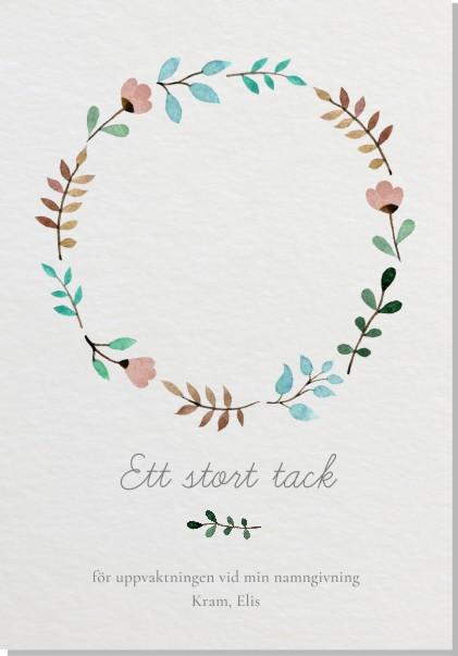 Printable June Tackkort