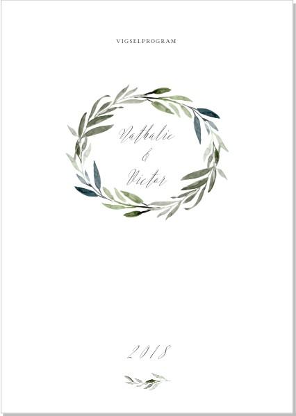 Printable Botanic Program A5