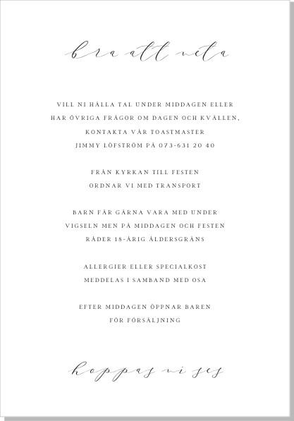 Printable Marble Inbjudningskort