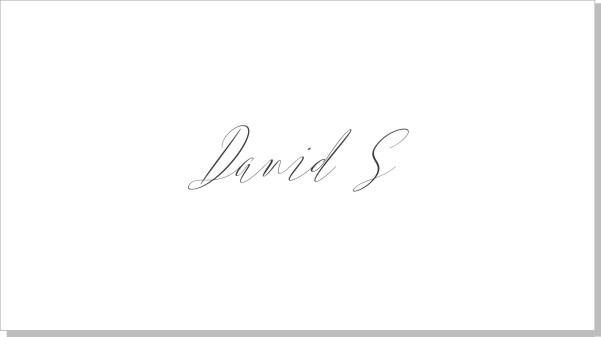 Printable Kalligrafi Placeringskort