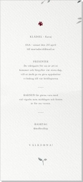 Printable Madeira Inbjudningskort