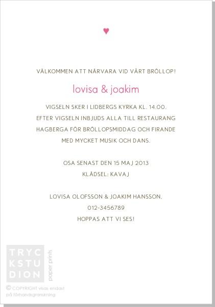 Printable Carmen Inbjudningskort