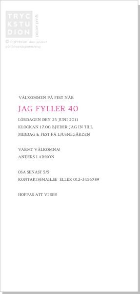Printable Duo Inbjudningskort